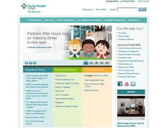 Thumbshot of Cpmc.org