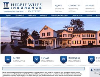 herbiewiles.com screenshot