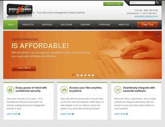 docuxplorer.com screenshot