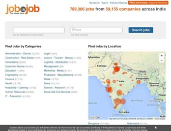 jobisjob.co.in screenshot