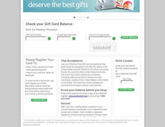 Thumbshot of Walmartgift.com