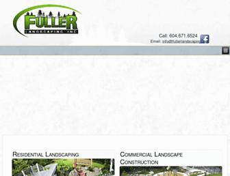 fullerlandscaping.ca screenshot