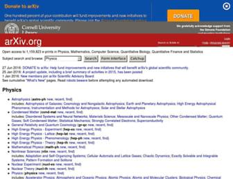 arxiv.org screenshot