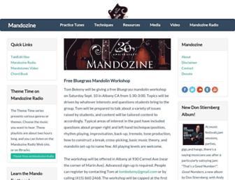 mandozine.com screenshot