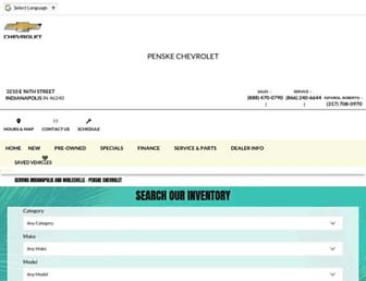 penskechevy.com screenshot