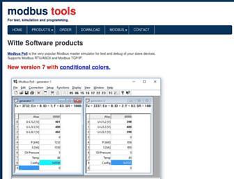 modbustools.com screenshot