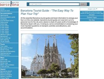 Thumbshot of Barcelona-tourist-guide.com