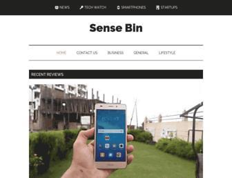 Thumbshot of Sensebin.com