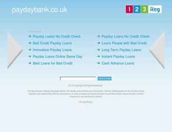 Thumbshot of Paydaybank.co.uk
