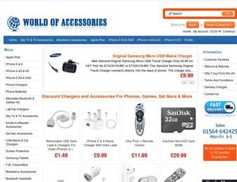 world-of-accessories.co.uk screenshot