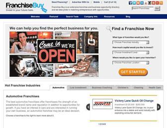 franchisebuy.com screenshot