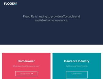 floodre.co.uk screenshot
