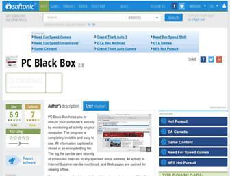 pc-black-box.en.softonic.com screenshot