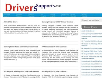 driverssupports.com screenshot