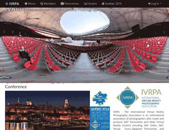 Main page screenshot of ivrpa.org