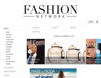 us.fashionnetwork.com screenshot