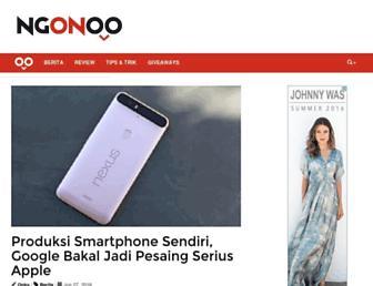 ngonoo.com screenshot