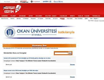 egitim.hurriyet.com.tr screenshot