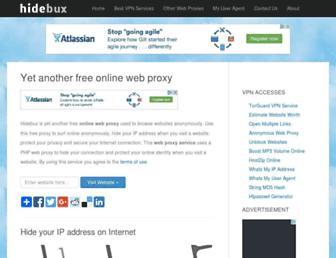 Thumbshot of Hidebux.com