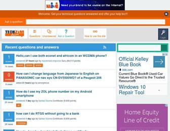 answers.techzim.co.zw screenshot