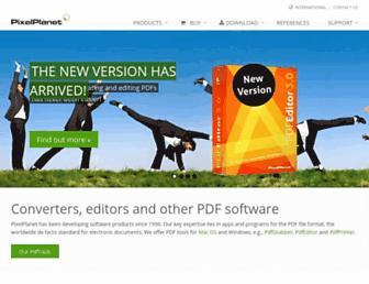 pixelplanet.com screenshot