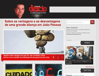 Thumbshot of Dercio.com.br