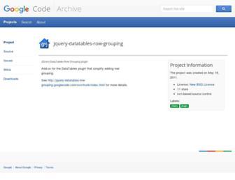106ae349a5d5e3224f6f64be3bbf78cfea284783.jpg?uri=jquery-datatables-row-grouping.googlecode