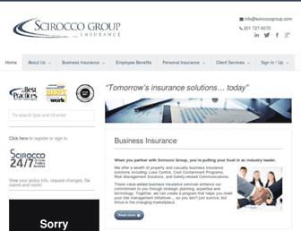 sciroccogroup.com screenshot