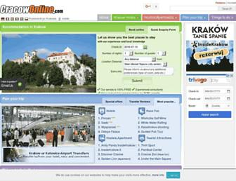 cracowonline.com screenshot