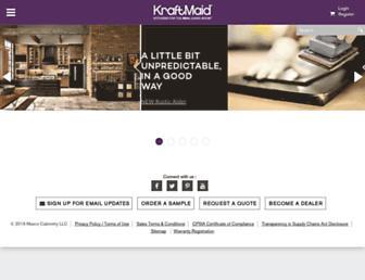 Thumbshot of Kraftmaid.com