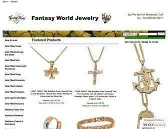 fantasyworldjewelry.com screenshot