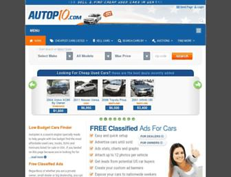 autopten.com screenshot