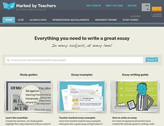 Thumbshot of Markedbyteachers.com