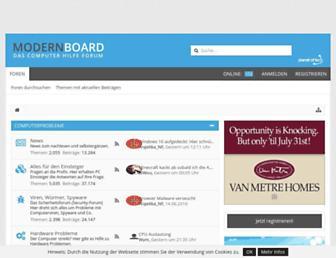 modernboard.de screenshot