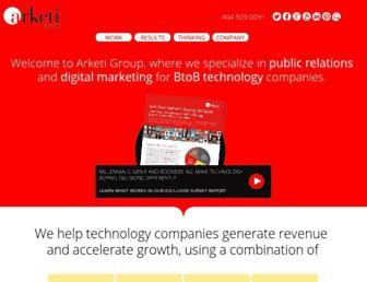 arketi.com screenshot