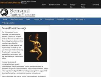 sensualtantramassage.com screenshot