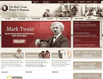 Thumbshot of Marktwainhouse.org