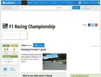 f1-racing-championship-demo.en.softonic.com screenshot