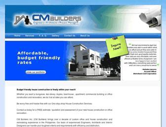 cmbuilders.com.ph screenshot