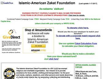 iazf.org screenshot