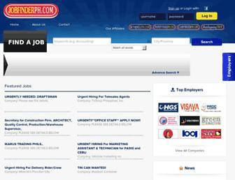 jobfinderph.com screenshot