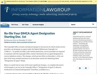 infolawgroup.com screenshot