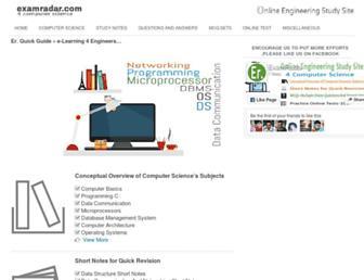 examradar.com screenshot