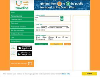 travelinesw.com screenshot