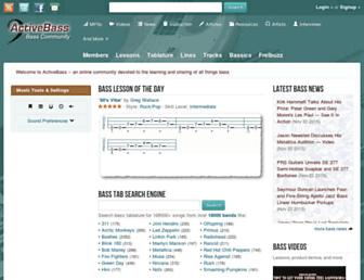 activebass.com screenshot