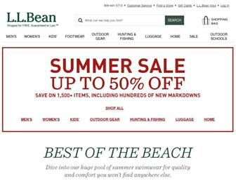 Thumbshot of Llbean.com