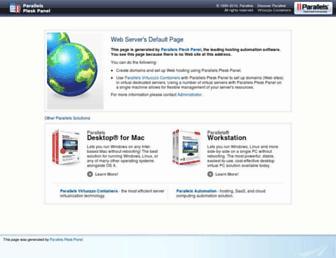 Main page screenshot of exceem.co.uk