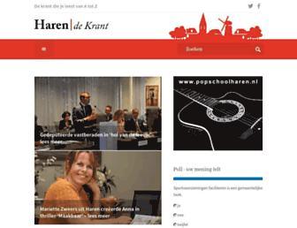 Thumbshot of Harendekrant.nl
