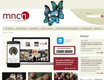 mncn.csic.es screenshot