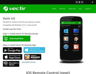 vectir.com screenshot